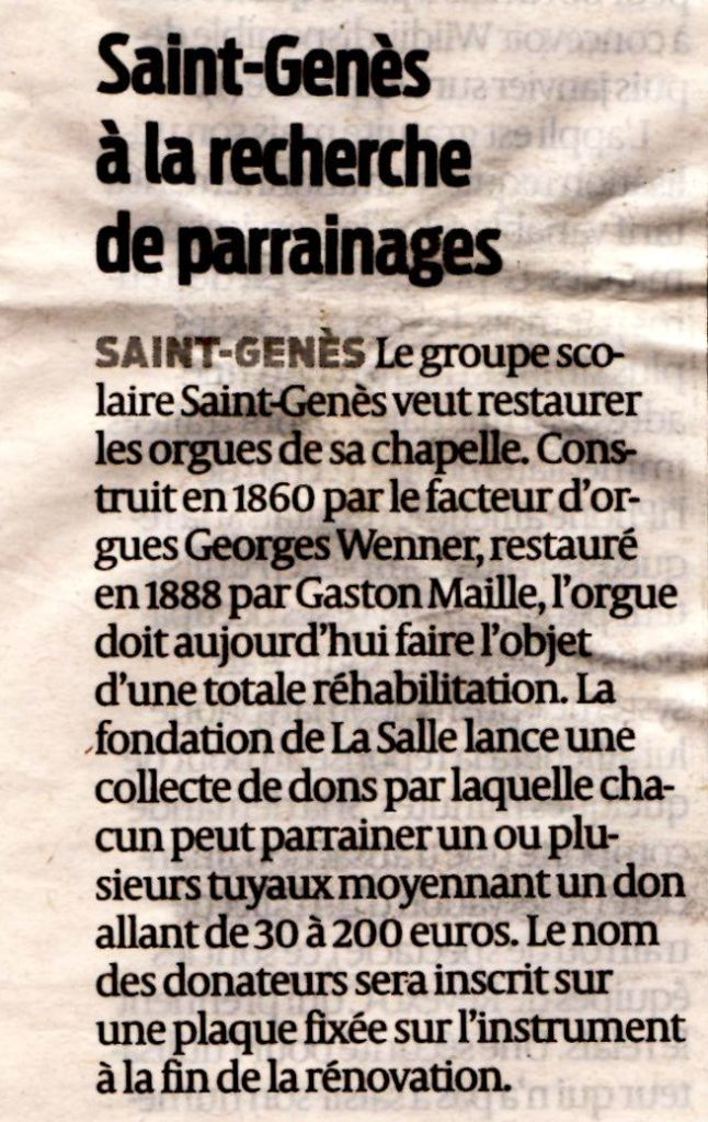 A texte sud ouest